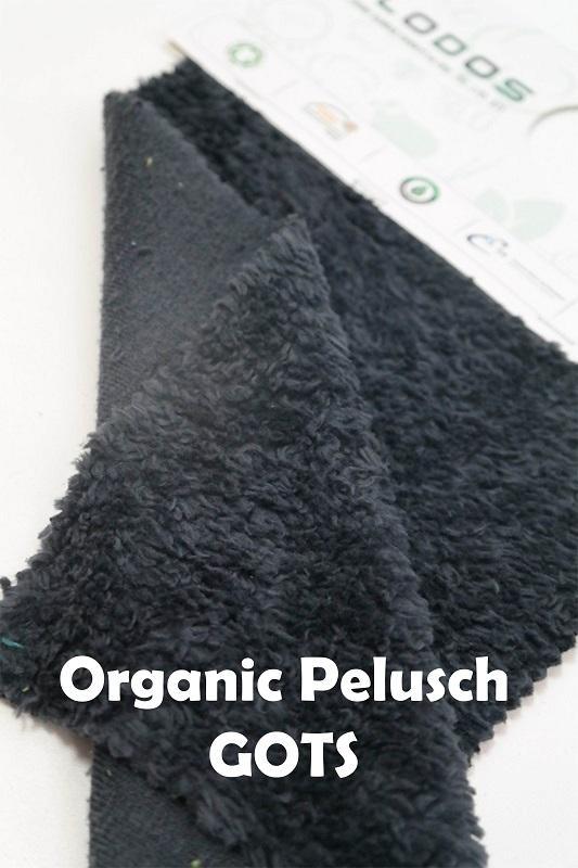 Organic Cotton Plüsch, Sherpa, Teddy Fabric GOTS - Dyed/Raw Teddypelusch weight between 400-300gsm