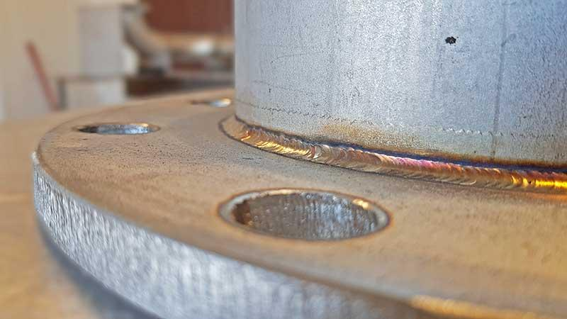 Lassen van staal -
