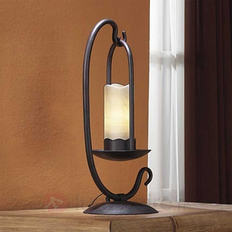 Jolie lampe à poser CANDELA - Lampes à poser rustiques