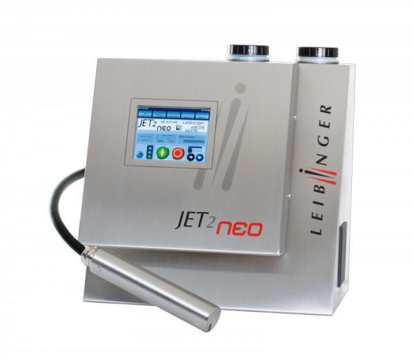 LEIBINGER JET2neo - Industrieller Inkjet-Drucker