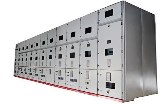 Dispositivo de distribución revestido de metal de alto volta - Revestimiento de metal desmontable Ac Power Enclosed Switchgear Cubículo Interru