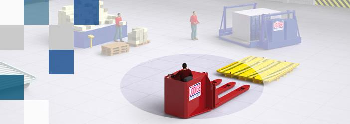 Flexible pallet handling at airports
