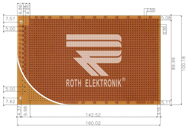 RE120-HP - Prototyping Boards Dual Inline