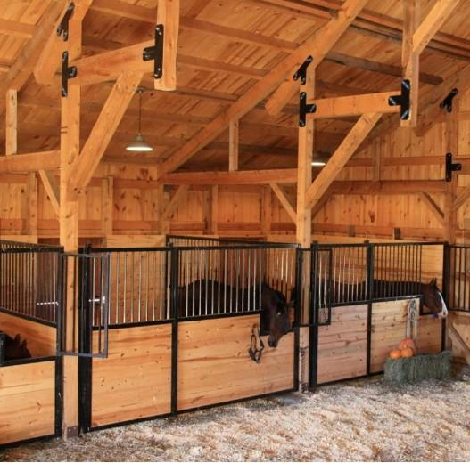 Horse Stall Panels  - Customize Design European Style Horse Stall/Stable