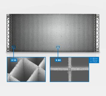 Anti-scatter grid / x-ray collimator - null