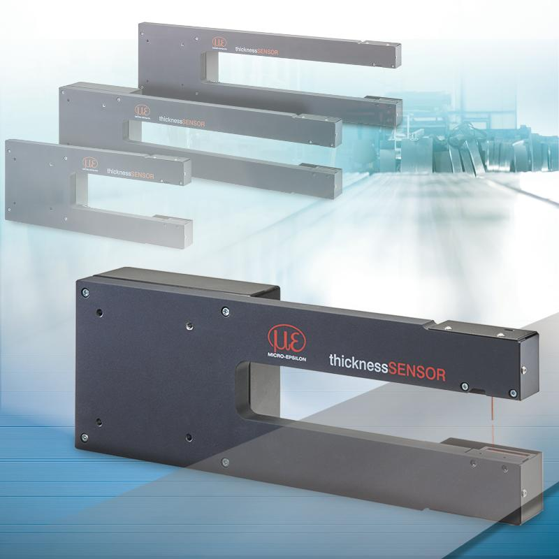 Sensor for precise thickness measurements - thicknessSENSOR