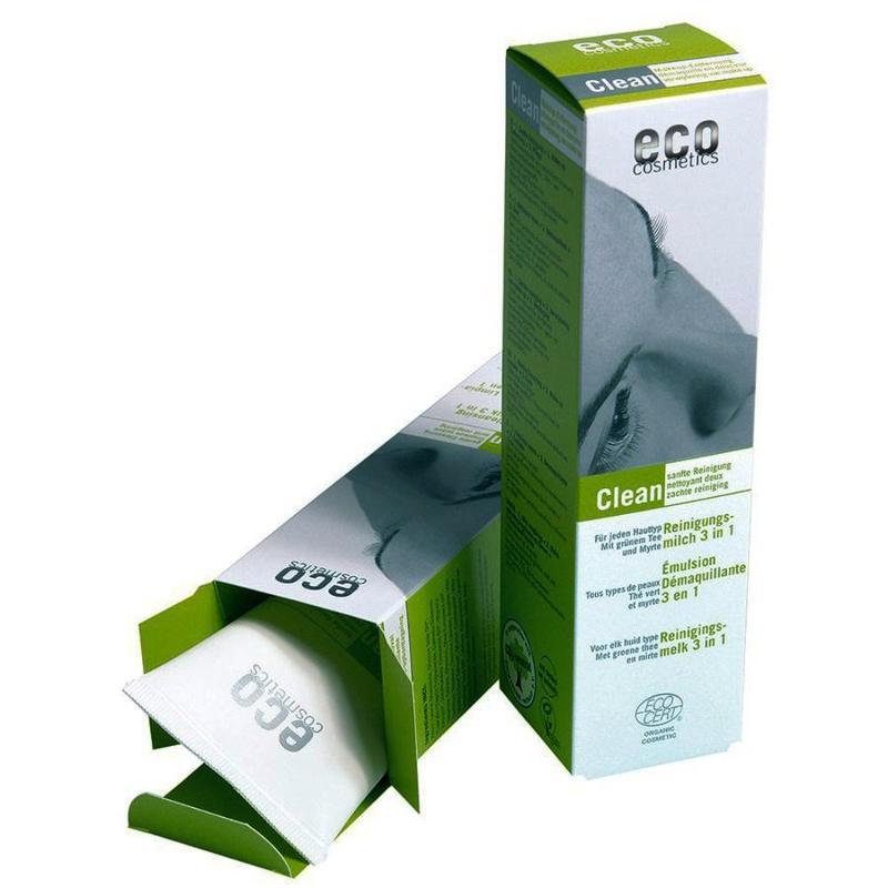 ECO Reinigungsmilch 125ml mit grünem Tee und Myrte - null
