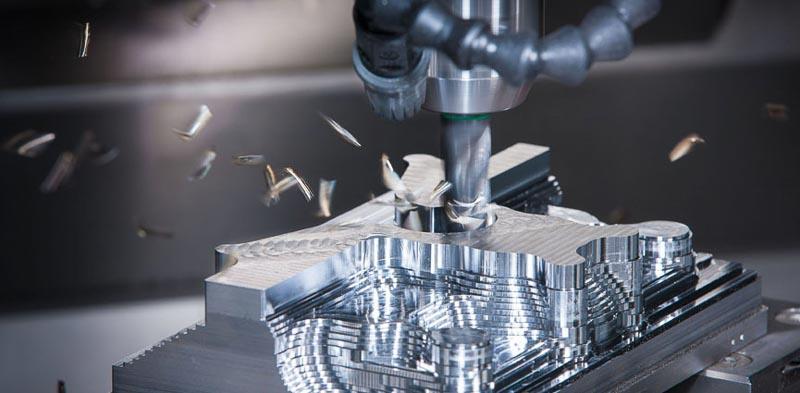 CNC milling -