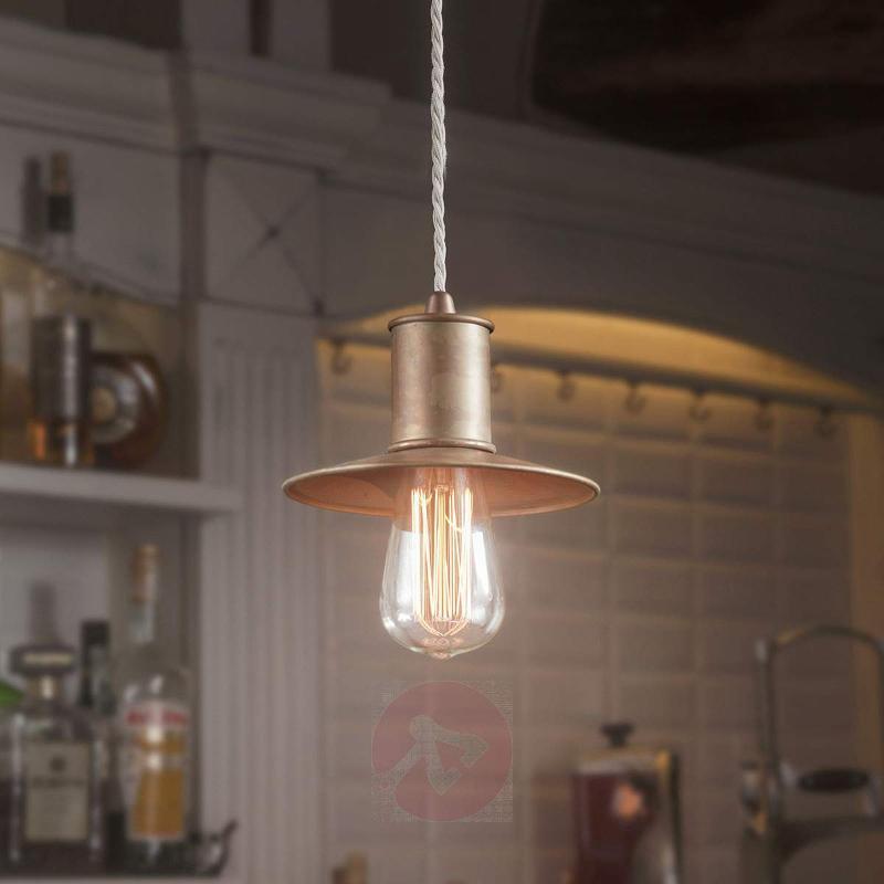 Rustic Nio hanging light made from metal - Pendant Lighting