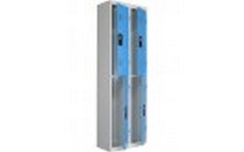 4-compartment locker - null