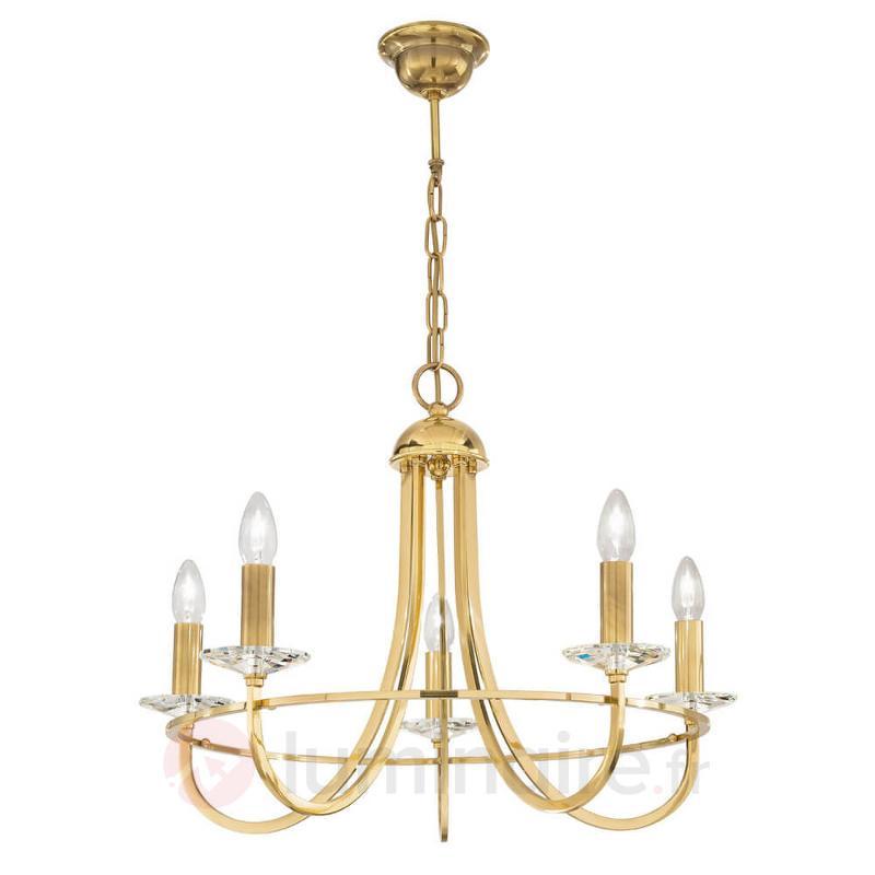Lustre IMPERIAL élégant à 5 lampes - Lustres classiques,antiques