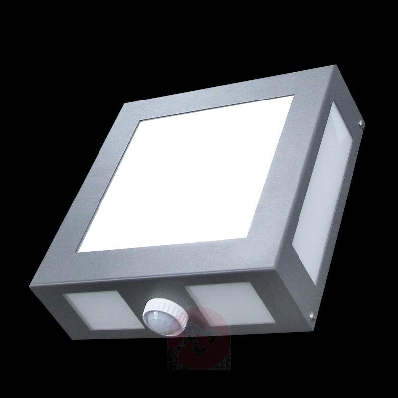 Legendo Angular Exterior Wall Lamp - Wall Lights with Motion Sensor
