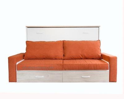 EL ESCORIAL - Cama individual con sofá delante.
