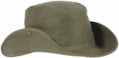 Suits Headgear - HBT BUSH HAT FR