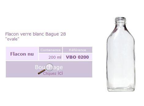 Flacon pharmaceutique