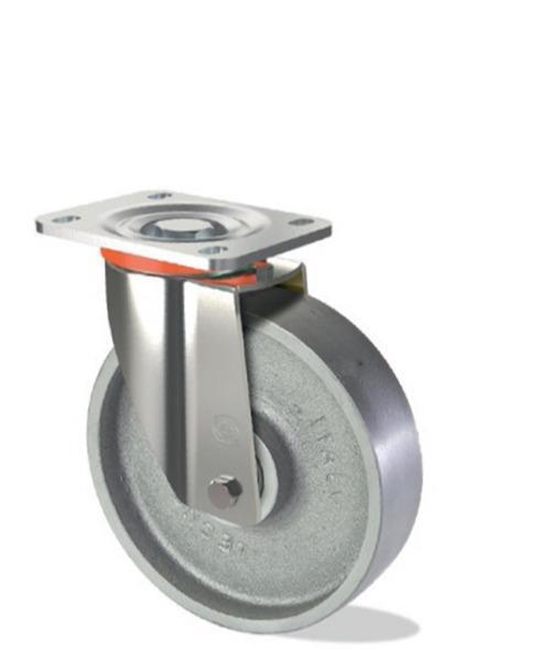 Ruota monolitica in ghisa meccanica - Serie pesante