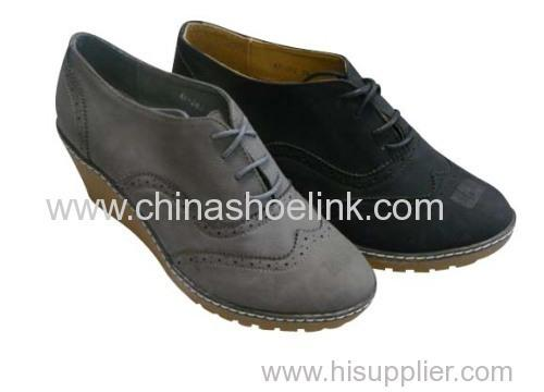 lady shoes with heel - Pump shoe,wedge shoe,