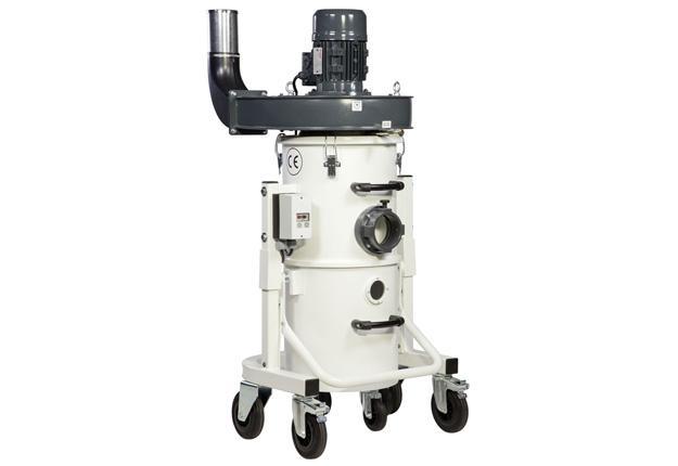 Aspirateur à copeaux 1200 m3/h - iV1 EXTRUSION