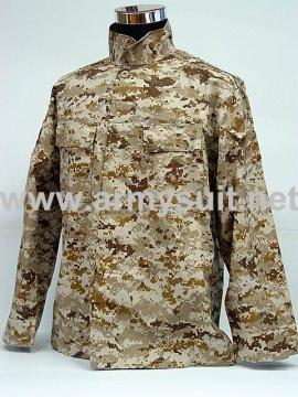 USMC Digital Desert Camo BDU Battle Dress Uniform - PNS1010