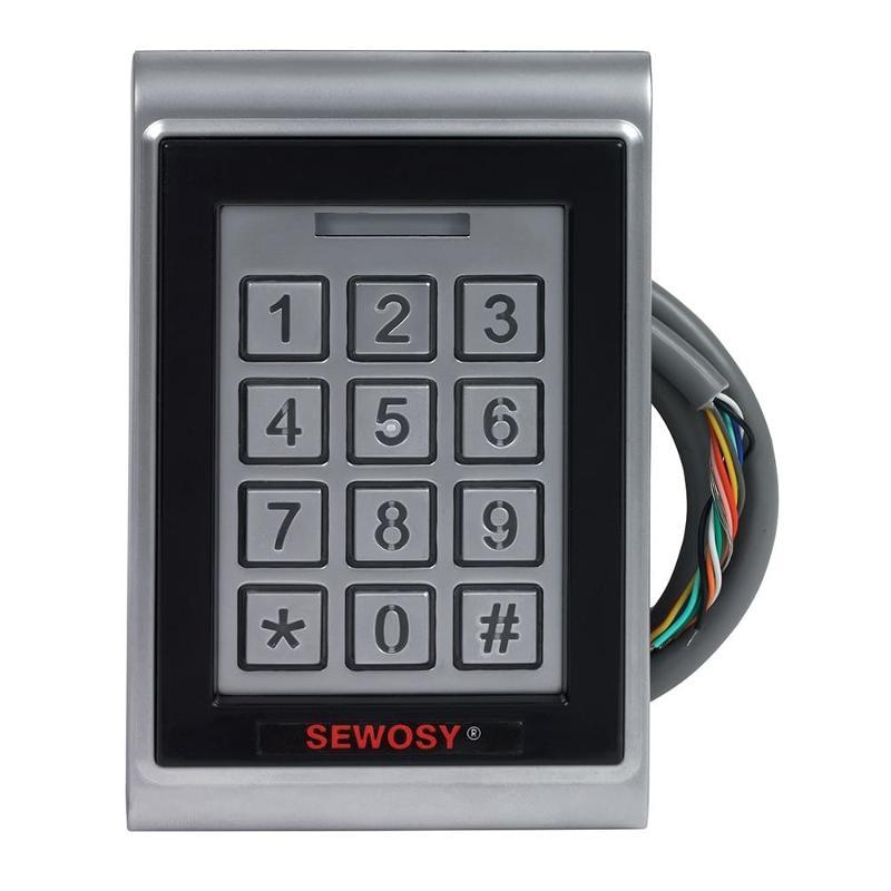 Sewosy KR1000-m + 5 badges iso mifare 1k philips 13.56 mhz - Gestion d'accès