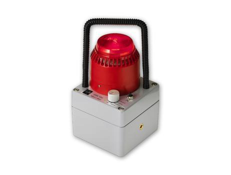 GWL10m - Dosisleistungswarnlampe