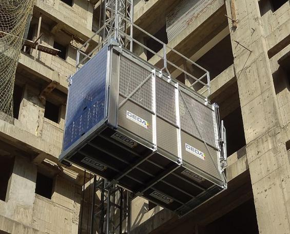 GEDA SBL 2000 - GEDA SBL 2000 - Personnel and Material Hoists