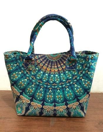 women shoulder cotton fashion mandala handbag