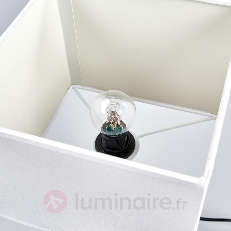 Lampe à poser WAVERLEY hauteur 45 cm - Lampes à poser en tissu