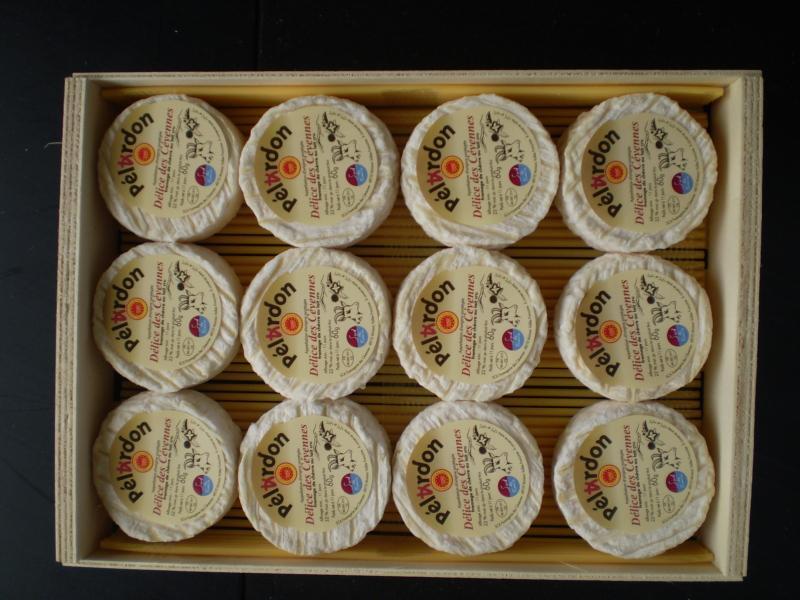 Pélardon AOP nu pièce 60 gr x 12 - Produits laitiers