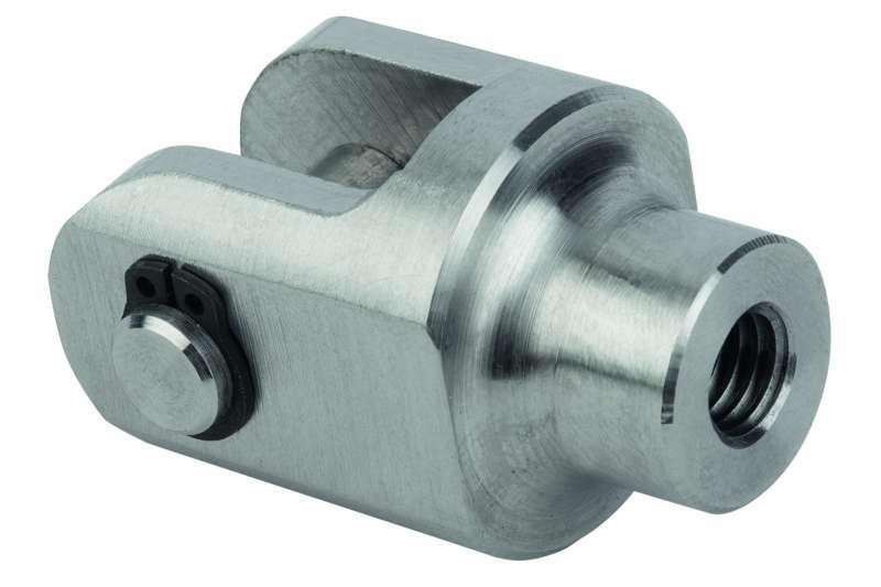 Clevis joints for rod ends - Clevis joints for rod ends, steel or stainless steel.
