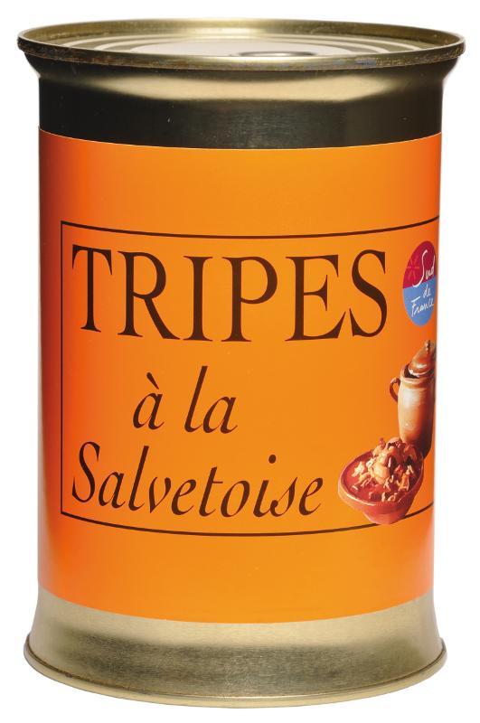 Tripes à la Salvetoise (conserve 800 gr) - Epicerie salée