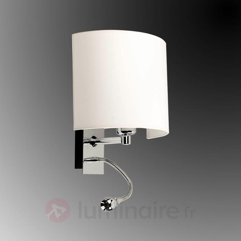 Applique moderne Basic à LED - Appliques chromées/nickel/inox