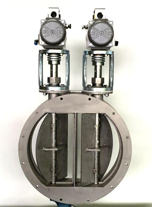 DOUBLE CONTROL VALVE WITH FLANGES  - TYPE FAK