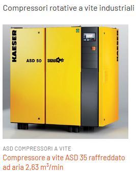 Compressori potenti da 18 kw  - compressorie ideali per catene di montaggio
