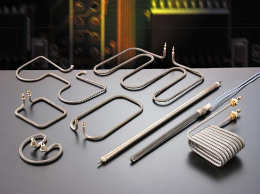 Tubular heaters - electrical-armored-resistances