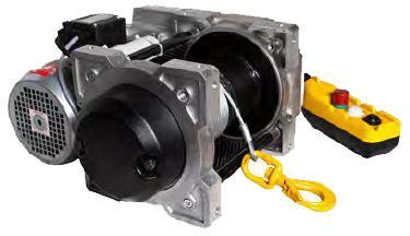 Treuils électriques - Treuil électrique 250kg à 500kg à commande directe - modèle TRBoxter