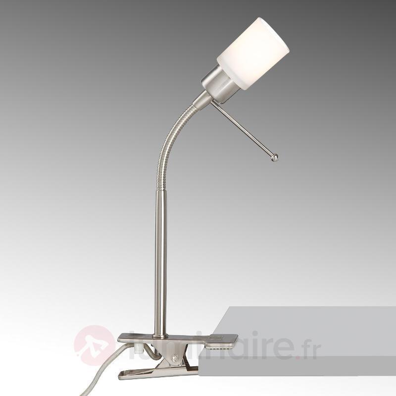Lampe à pince Bill avec tête de lampe cylindrique - Lampes à pince