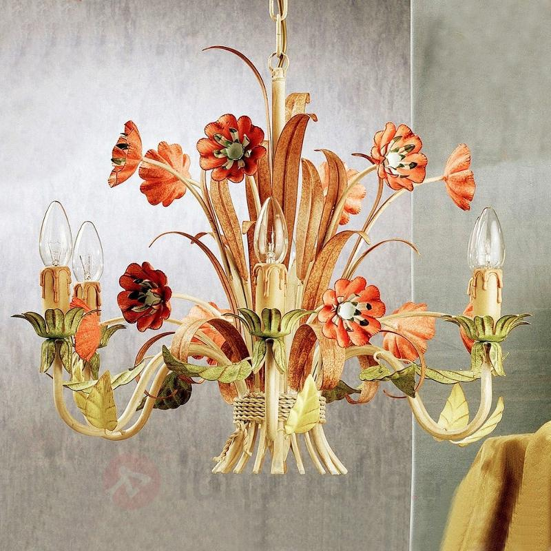 Lustre coloré NOVARA - Lustres style florentin