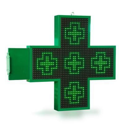 Croix Mono 18 double face - ENSEIGNES LED