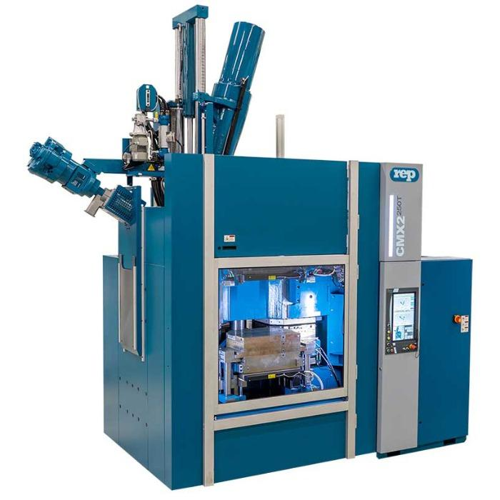 CMX2 - Compact Multi Station - Presses à injecter multipostes REP