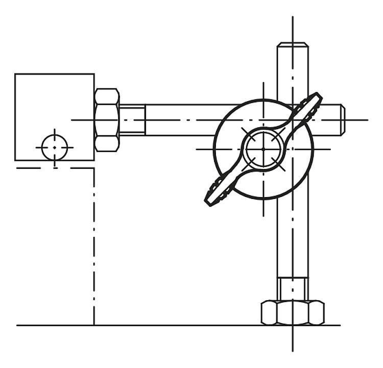 Noix de serrage régable - Noix de serrage