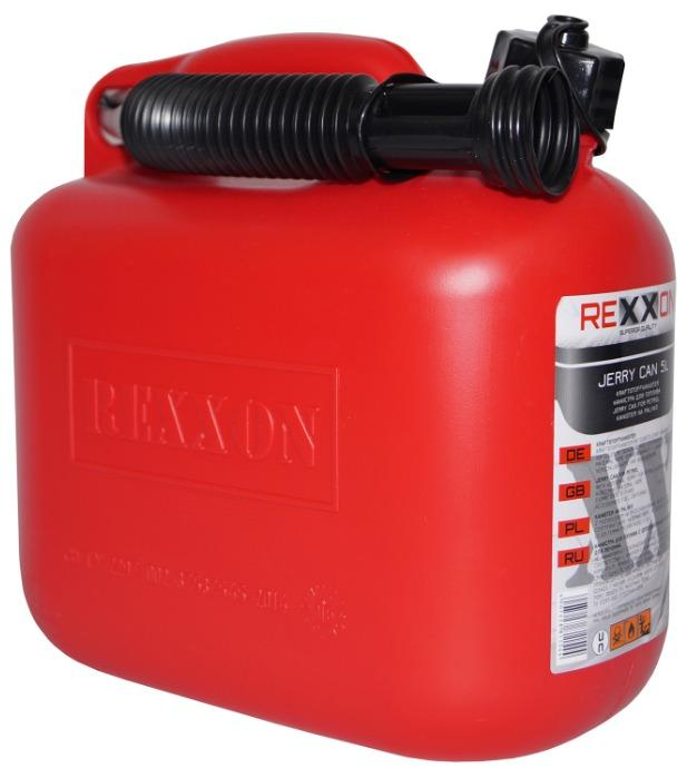 REXXON Standard Jerry can for Petrol 5 L                     -
