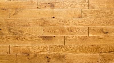 Oak solid flooring -