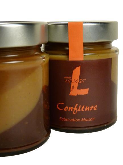 Crème Maison Lesage - Crème 3 Chocolats - Pot en Verre de 220 g