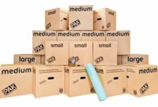 Moving boxes - Home moving kits