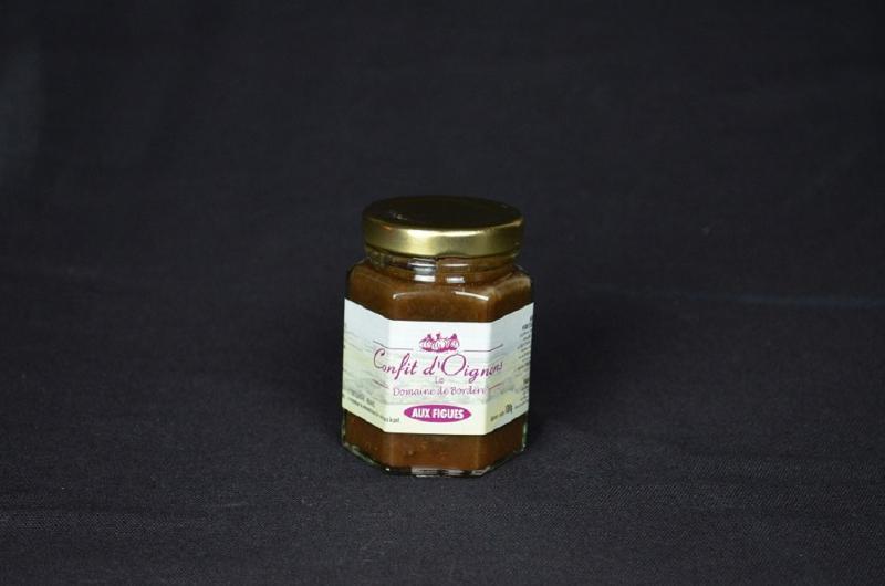Confit d'oignons aux figues - Epicerie salée