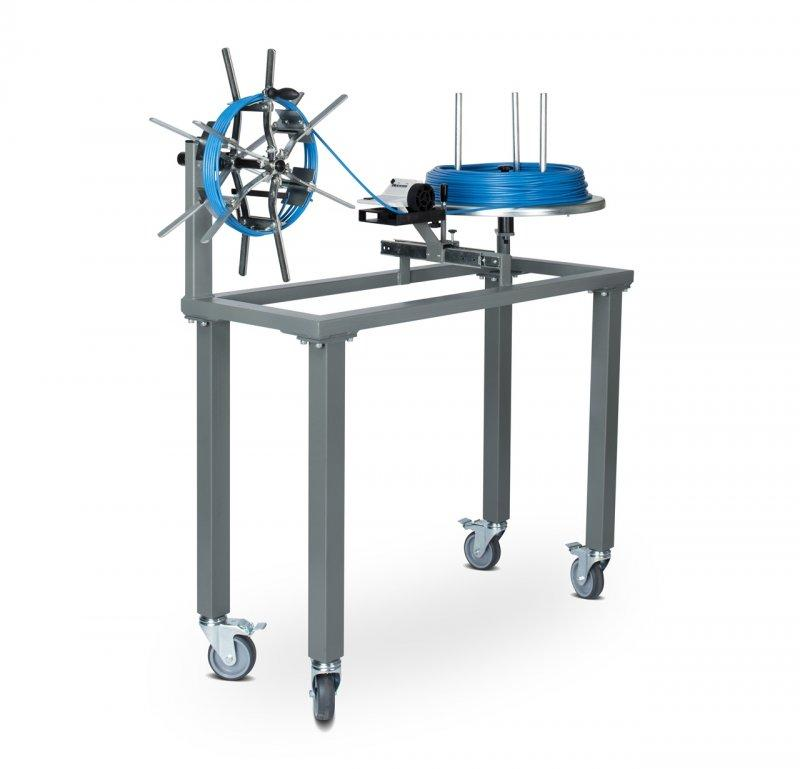 MESSROL 450 manual rewinder for cables - Mobile cable rewinding system for manual work