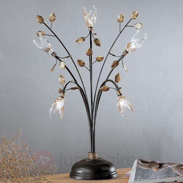 Lampe à poser style florentin MILLEFOGLIE 5 lampes - Lampes à poser style florentin