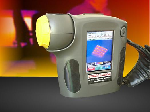 Infrared thermocameras - thermoregulation