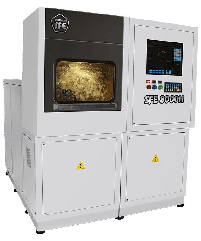 Электрохимический станок SFE-8000M - Максимальная площадь обработки 80см2